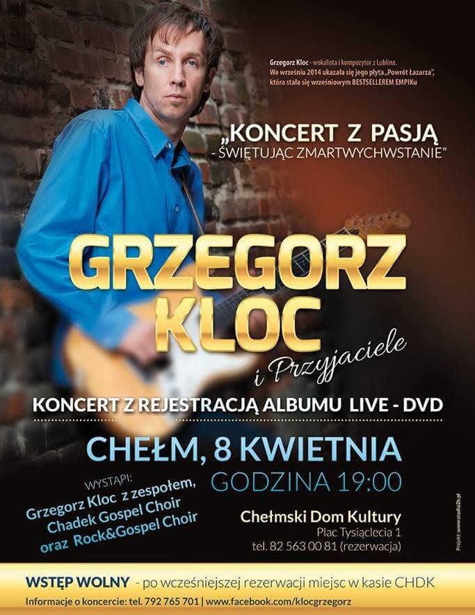 koncert Grzegorz Kloc