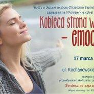 plakat reklamujący wydarzenie 2 konferencja kobiet