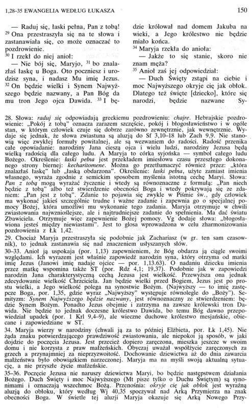Biblia Poznańska - Ewangelia wgŁukasza